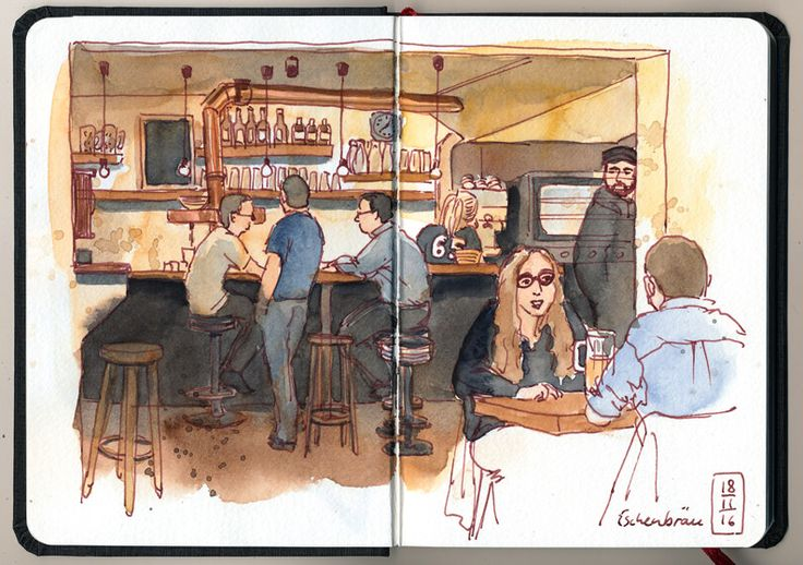 Eschenbräu // sketchbook