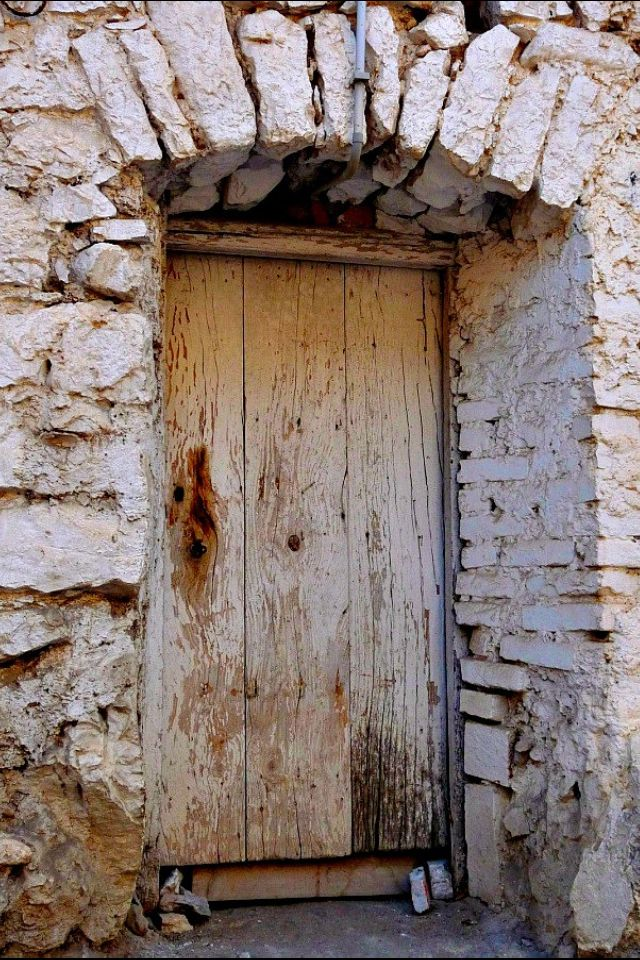 Old Door in Itri, Italy