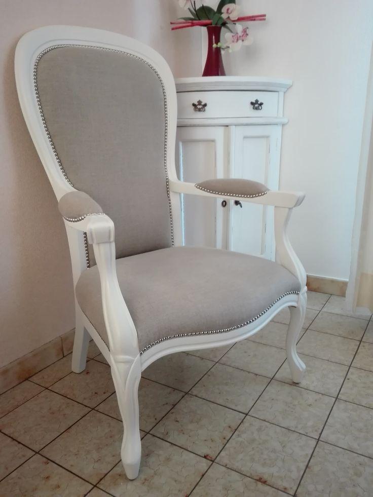 Fauteuil voltaire relook relooking meubles ajh d co en 2019 fauteuil voltaire fauteuil et - Meuble voltaire ...