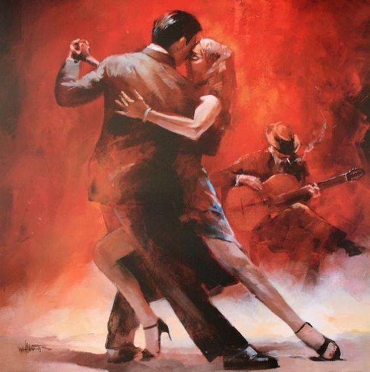 Pintura y fotograf a art stica tango cuadros de parejas - Cuadros de parejas ...