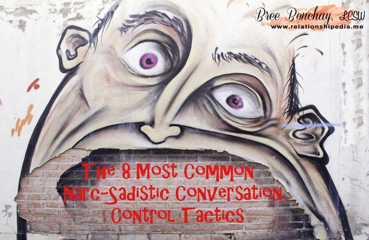 conversation control tactics Narcissism, Narc, The