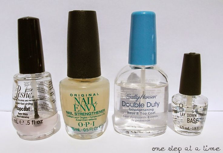 Base and Top Coats - What I'm Currently Using and Why.