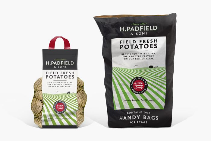 Potatoes package design