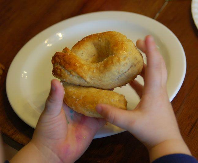 Alphabet Soft Pretzels: Yummy Preschool Snack & Activity
