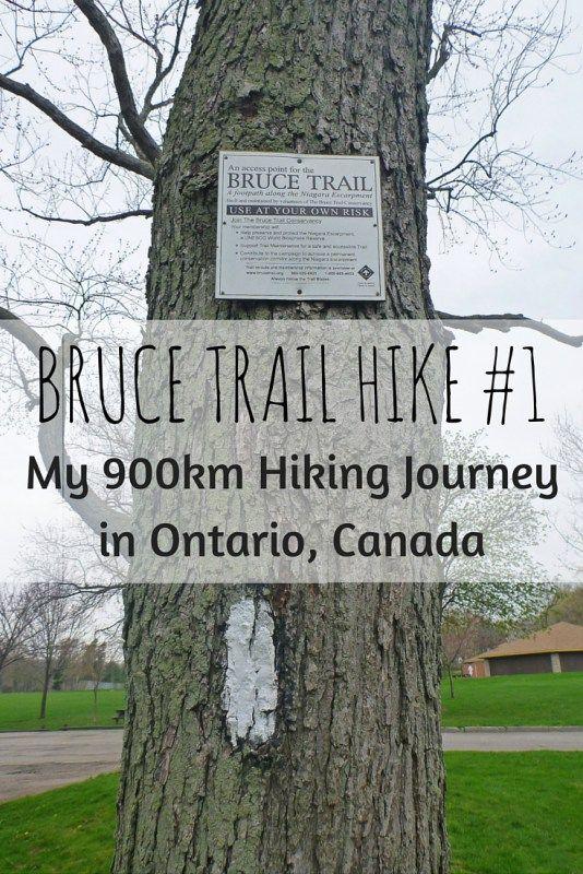 Bruce Trail Hike #1 - Queenston, Ontario