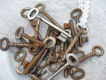 alte  Schlüssel je 1 Stück