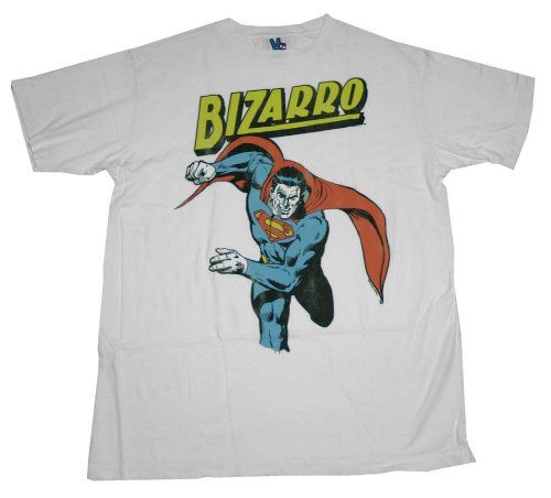 Bizarro Superman DC Comics Superhero Soft T-Shirt Tee @ niftywarehouse.com #NiftyWarehouse #Superman #DC #Comics #ComicBooks