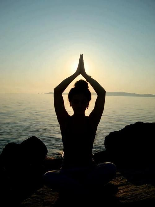 """""""Yoga wasn't created to get you in shape or calm you down or help you multitask crises. The practice was created to get you enlightened. The practice was designed to dissolve the imaginary divisions that your mind creates between you and everything else."""" #yoga"""