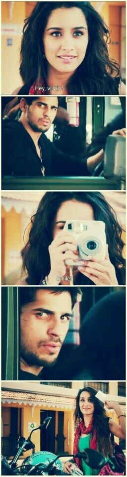 Ek villain, just love this scene Hey, villain!!