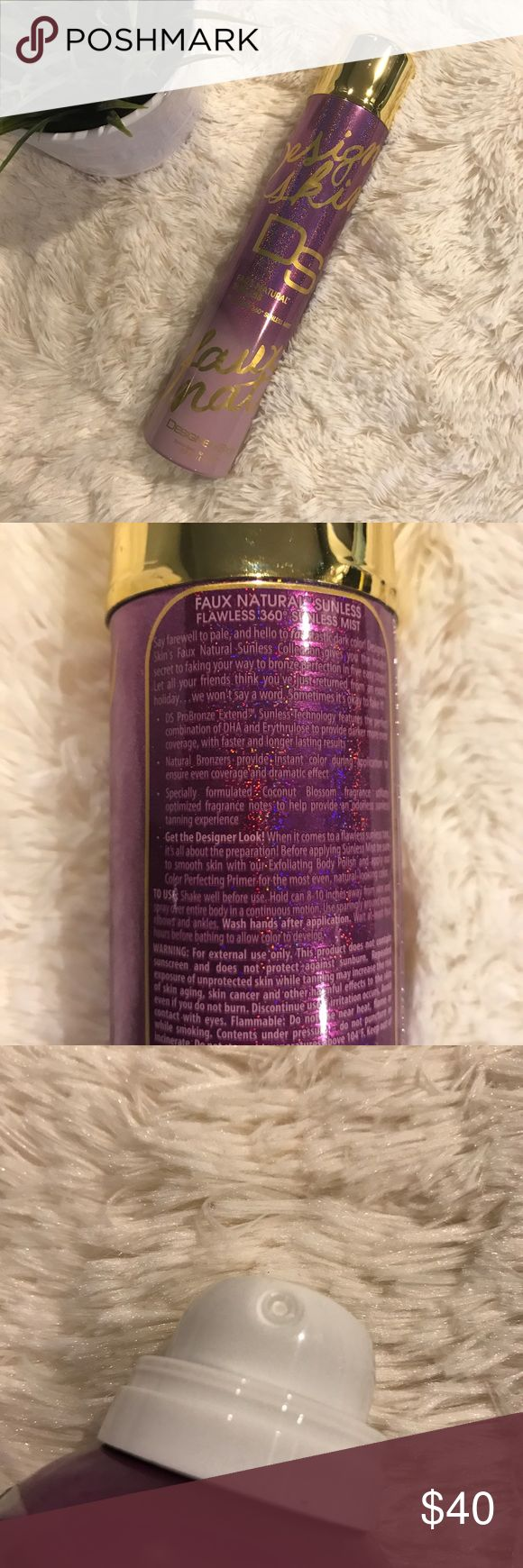 Designer Skin Faux Natural Sunless Spray Tan Item: Designer Skin Faux Natural Sunless Spray Tan Size: 8 fluid ounces  ❤️ Reasonable offers will be considered (please use the offer button to negotiate).  ✅ Bundle to save on shipping costs! ♏️ Lower prices on Merc! Find my page by searching for @heather_lynn.  ❌ NO TRADES! ❌ Lowball offers will be ignored and deleted. ❌ Users with unnecessary comments will be blocked.  Related: Victoria's Secret, PINK, Scented, Follow Me, Follow Game Designer…