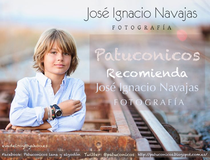 Patuconicos Recomienda la fotografia de Jose Ignacio Navajas:  http://jinfotografia.com