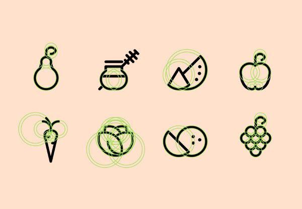 Organic Food. Designed by Wojciech Zasina (Poland)