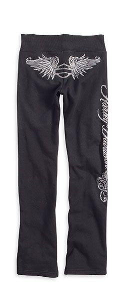 Harley Davidson Bling | Harley-Davidson Women's Sweatpants with Bling