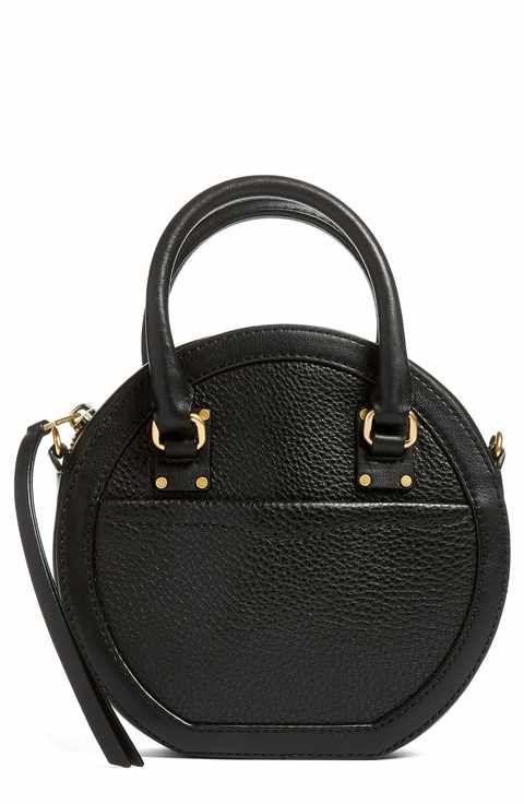 29f70cd0be Rebecca Minkoff Bree Circle Leather Crossbody Bag