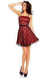 Dress B.L.Cifa 0003K salmon-black 3 Pcs
