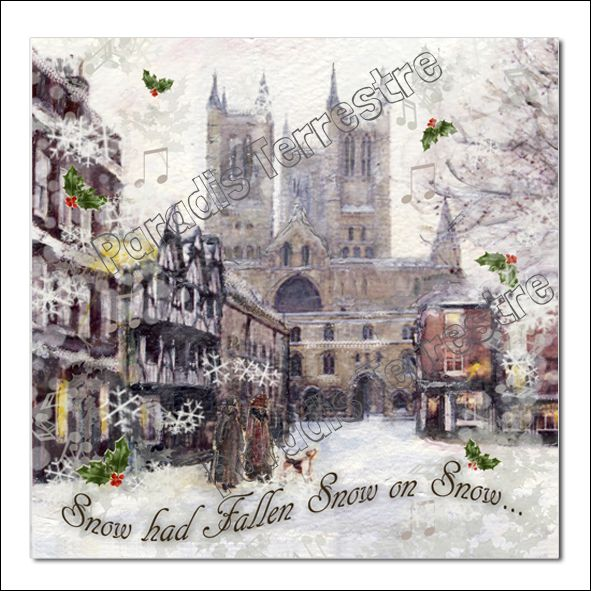 41 best wholesale greeting cards images on pinterest art cards traditional christmas card snow on snow featuring lincoln cathedral in the snow m4hsunfo