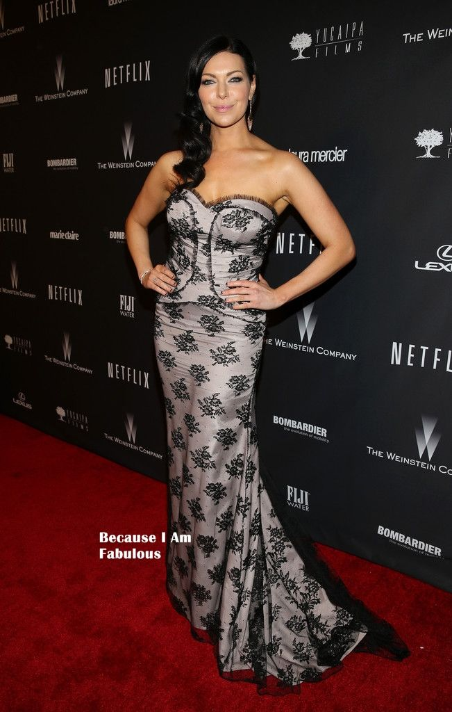 Fabulously Spotted: Laura Pepron Wearing Memeka by Gustavo Cadile -The Weinstein Company & Netflix's 2014 Golden Globes After Party - http://www.becauseiamfabulous.com/2014/01/laura-pepron-wearing-memeka-by-gustavo-cadile-the-weinstein-company-netflixs-2014-golden-globes-after-party/