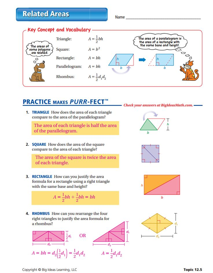 10 best Perimeter and Area (Middle School) images on Pinterest ...