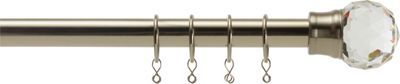 Buy Heart of House Juliette Extendable Curtain Pole Set - Steel at Argos.co.uk, visit Argos.co.uk to shop online for Curtain poles and tracks