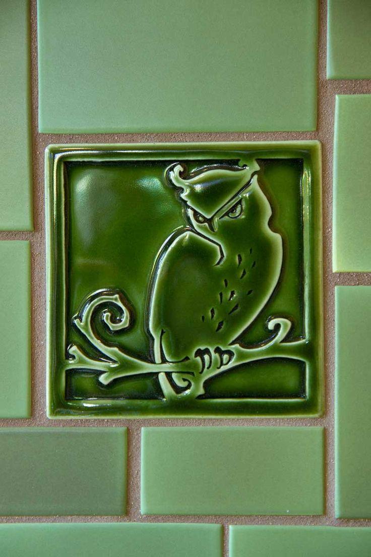 Arts and crafts bathroom tile - Craftsman Tile Makers