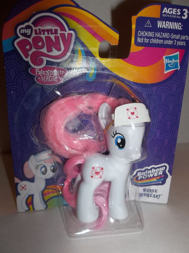 2014 Hasbro My Little Pony FIM EXCLUSIVE NURSE REDHEART figue New In Box NM in Toys & Games, Action Figures, TV, Movies & Video Games | eBay