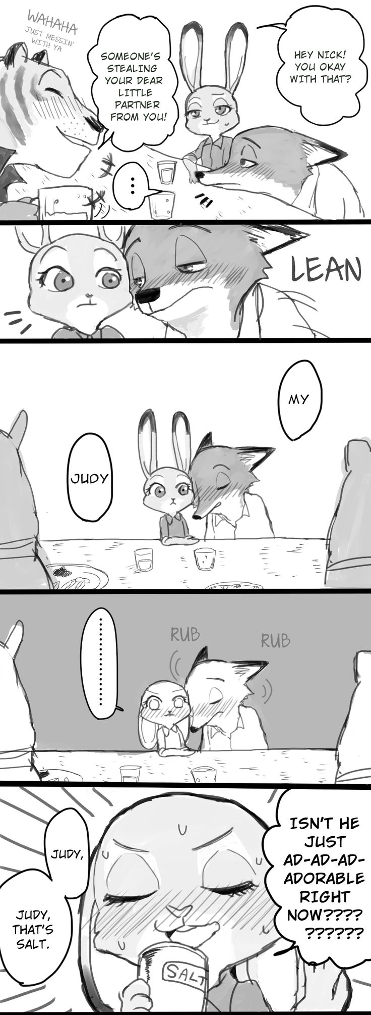 Back in June of 2016, we featured a short little comic called Nick and Judy Drink , about Judy dealing with a drunk Nic...