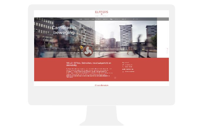 elffers website design by daily milk