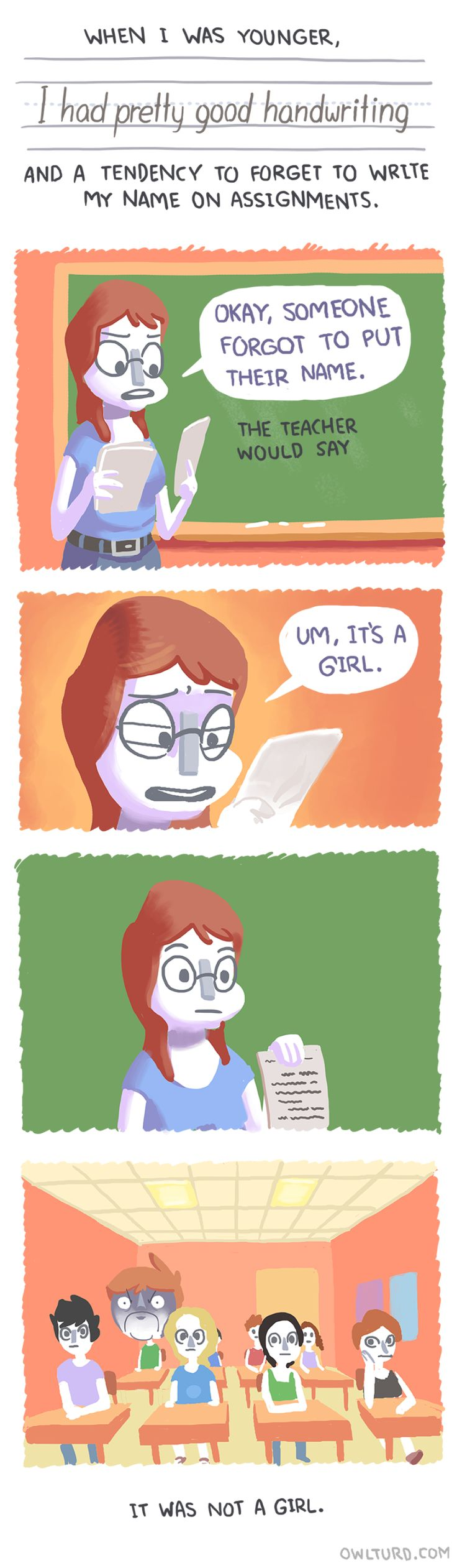 Owl Turd Comix by college senior Shenanigansen are funny and absurd. [Bored Panda]