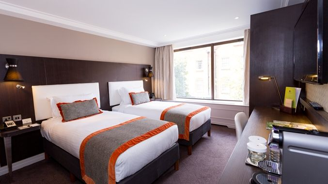 DoubleTree by Hilton Hotel London - Hyde Park Hotel, GB - Twin Bedroom