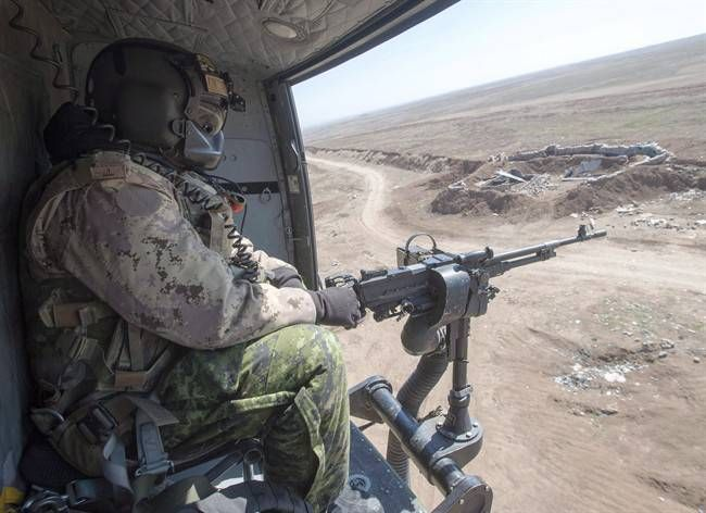 Canada extends mission to fight ISIS for 'at least' 2 more years https://tmbw.news/canada-extends-mission-to-fight-isis-for-at-least-2-more-years  The federal government says the Canadian military will remain in Iraq for at least two more years as part of an international coalition fighting the Islamic State of Iraq and the Levant .Defence Minister Harjit Sajjan says the threat posed by the group, also known as Daesh , ISIL or ISIS, requires Canadian soldiers to remain in the region until at…