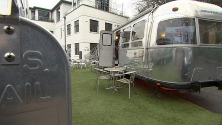 A Bristol guesthouse is taking the idea of caravanning to new heights, receiving planning permission to put caravans on its roof.