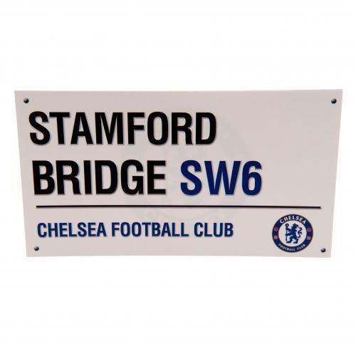 Chelsea FC Birthday Card Street Sign