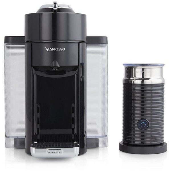 Crate & Barrel Nespresso ® by Delonghi VertuoLine Evoluo Deluxe Bundle (810 BRL) ❤ liked on Polyvore featuring home, kitchen & dining, crate and barrel and coffee cup holder