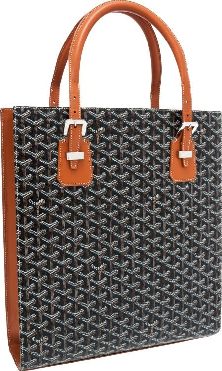 Ignoring the coloring, Goyard's signature pattern look is p31m