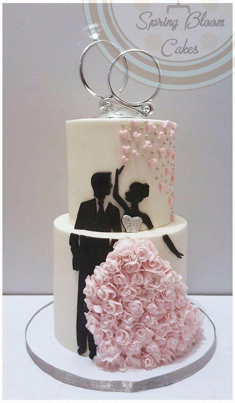 Engagement Cake Ideas Cupcakes Spring Wedding Cake Beautiful Wedding Cakes Engagement Cake Design
