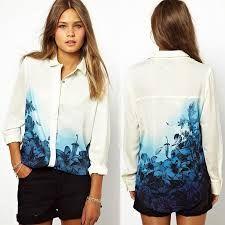 Resultado de imagen para camisas estampadas para mujer
