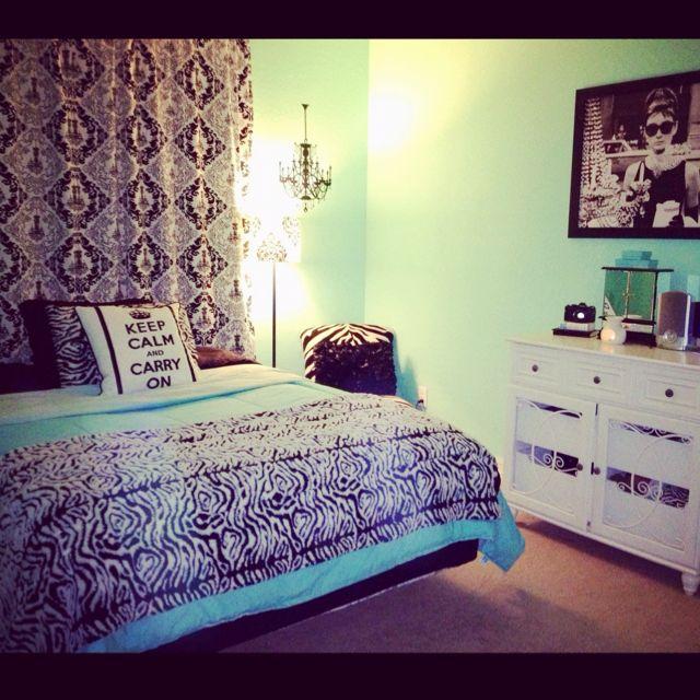 Teal Bedroom Curtains Bedroom Decor For Teenage Girls Bedroom Bed Lights Modern Bedroom Ceiling Fan: 90 Best Tiffany Blue Bedroom Images On Pinterest