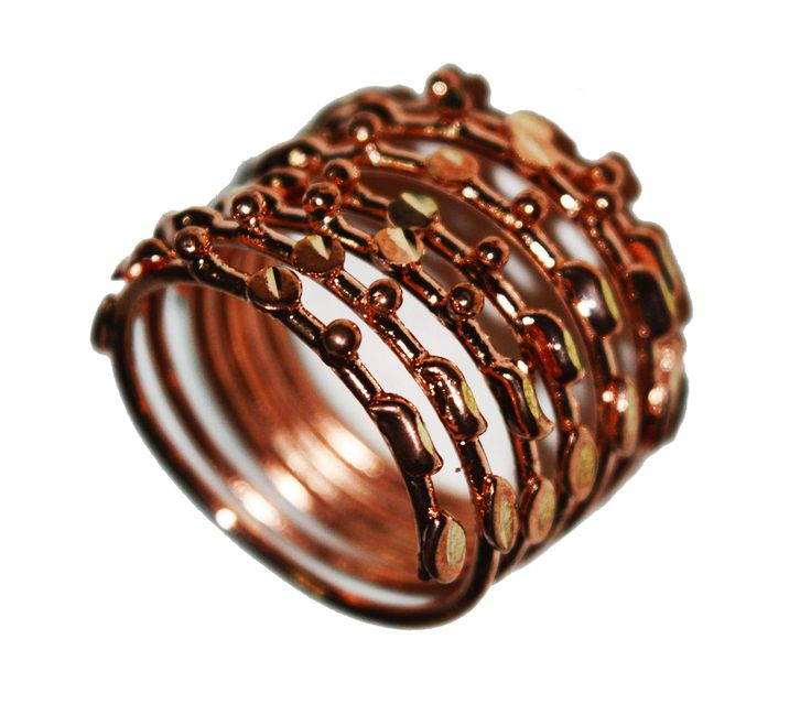 Copper Spring Ring. SKU: CJR000205015
