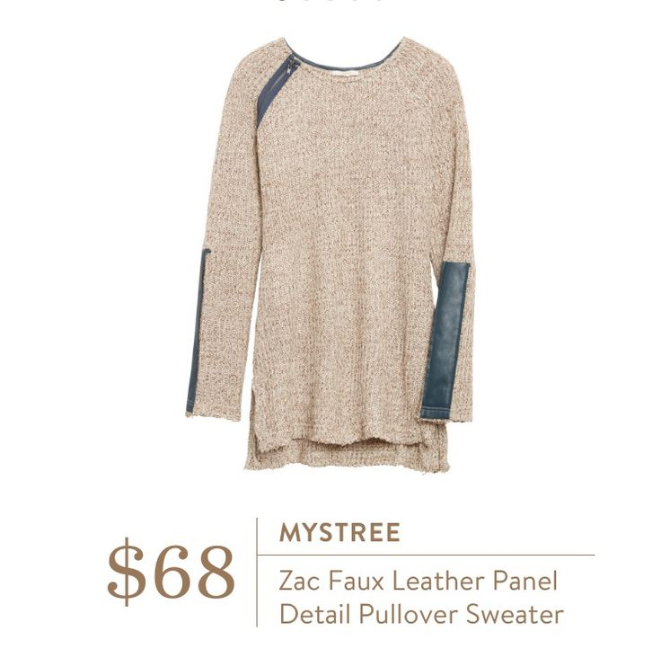 Dear Stitch Fix Stylist - the subtle details on this sweater make it unique and ups the neutral game for me.
