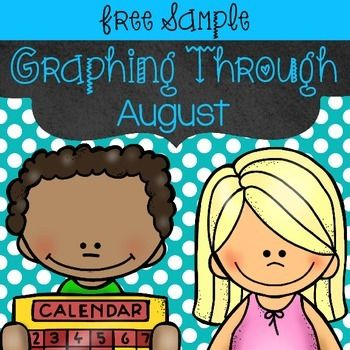 This free sample of my August Graphs lets you create a pictograph or bar graph to find out who is ready for a new year and who doesn't feel so sure. Students will collect the data, make a graph, and interpret the data in their own flipbooks.