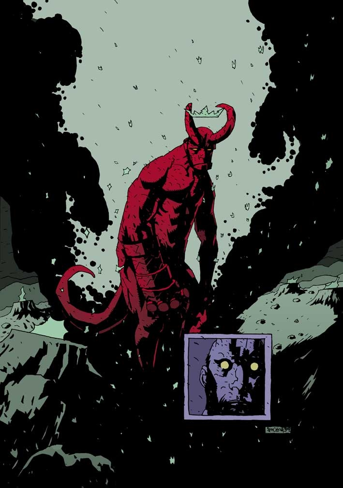 Novel Books About Family Hellboy In A Mignola Style By Alexander Fechner Comic