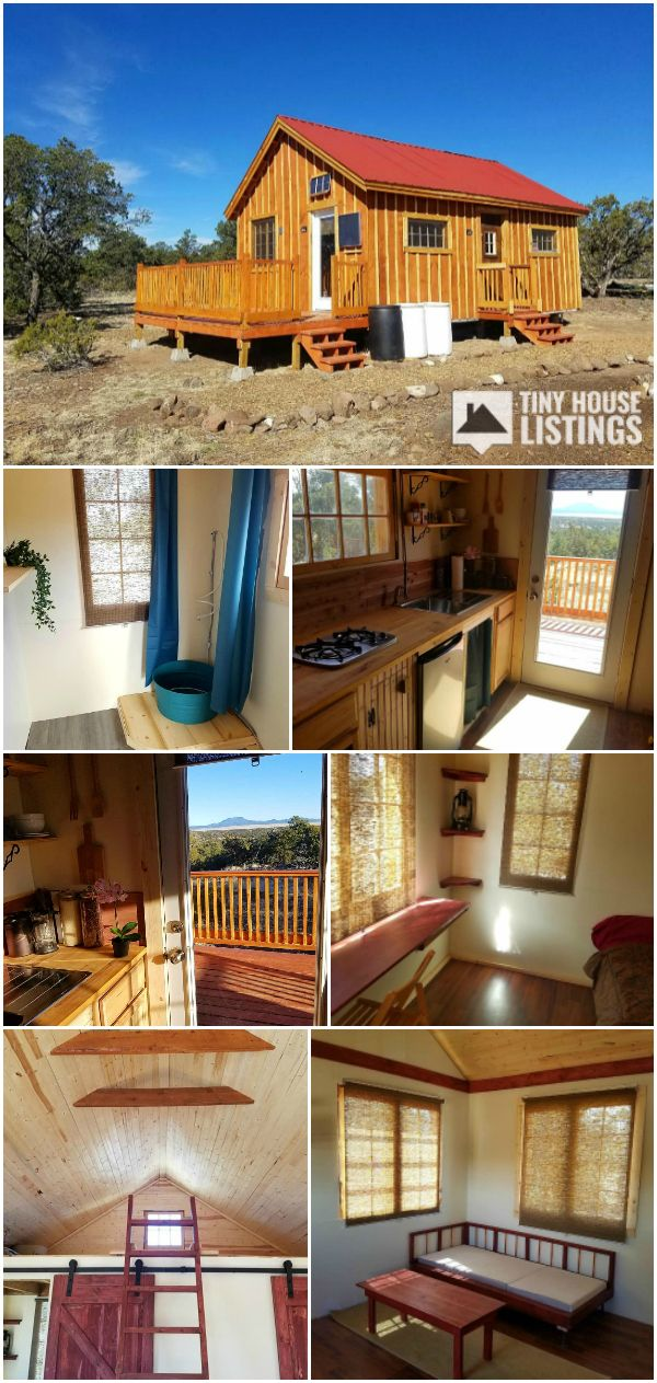 Good Karma Cottage On 17 Acres In Western New Mexico Cabin For Sale In Quemado New Mexico Tiny House Listings Off Grid Tiny House Tiny House Design Tiny Cottage