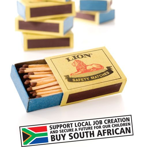 What's a braai without matches? Safety matches, of course, like the trusted #Lion brand. #picknpay #heritageday #proudlysouthafrican