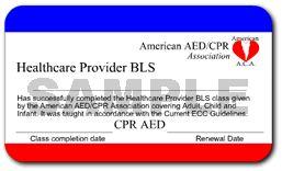 ONLINE CPR RENEWAL CARD SAMPLE