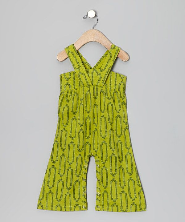 Take a look at this Vine Quilted Organic Gaucho Playsuit - Infant & Toddler on zulily today!
