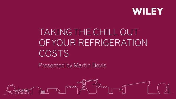 Wiley Knowledge Series-Taking the Chill out of Your Refrigeration Costs-Part 1   In Part 1, Martin discusses Power Efficiency - explaining the impact of Power Factor on a facility's energy usage and comparing refrigeration compressor motor types.