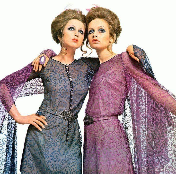 Pattie Boyd and Twiggy, Vogue Italia, 1969 https://t.co/uIt49MPQwg