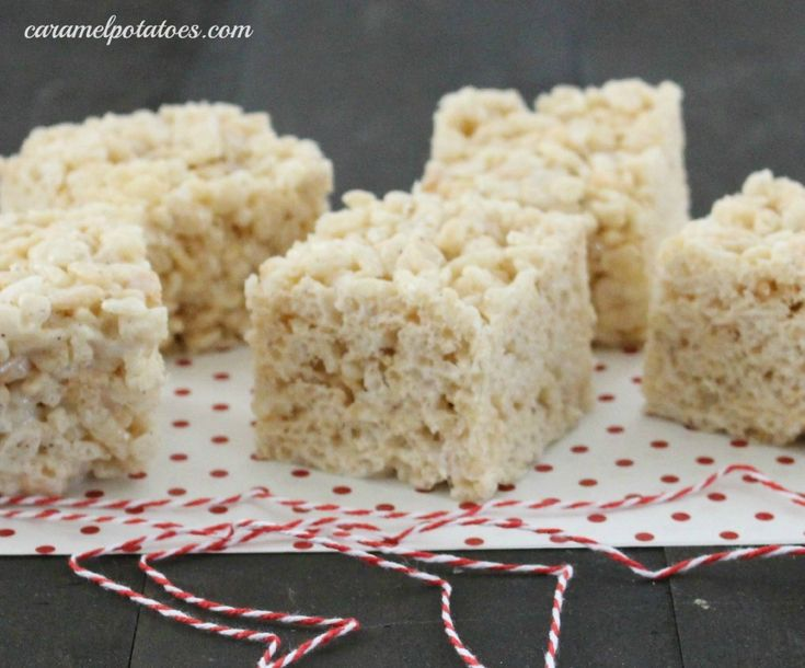 Salted Brown Butter Rice Krispie Bars | Snacks & Party Treats | Pinte ...