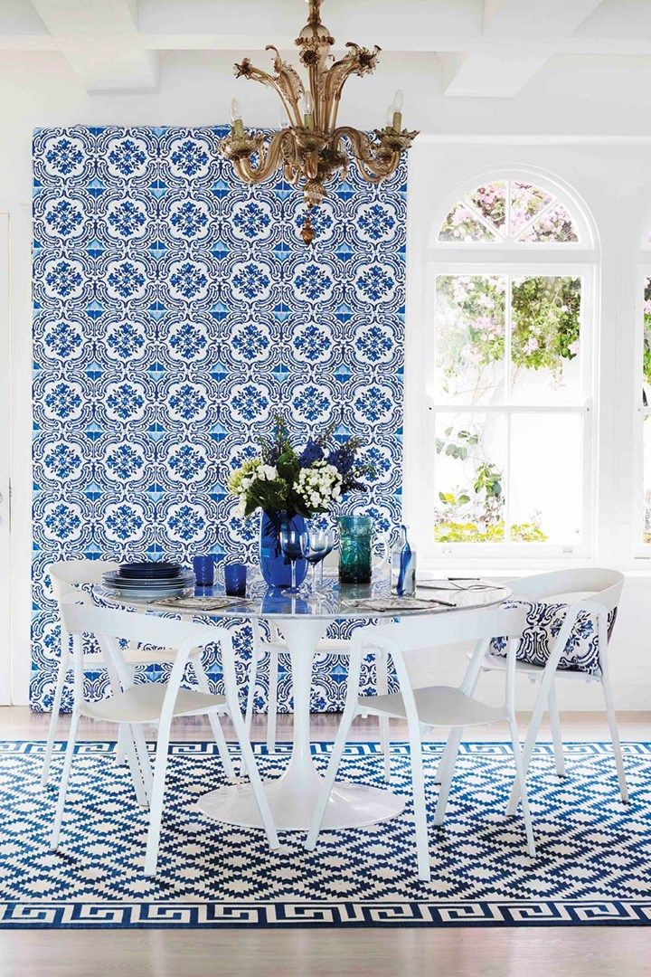 Five ways to a fabulous feature wall | Dining room | Home Beautiful magazine