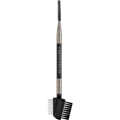Whether you make your living doing makeup or you're just makeup-obsessed, you know the right tools can make all the difference. And the UD Pro Essential Eye Tool by Urban Decay is the ultimate blend of form and function—it features three must-have tools in one: a brow brush, a spoolie and a stainless-steel lash comb. Urban Decay's pro-quality, cruelty-free brushes are easy on the eyes and the environment. The brushed gunmetal handles are made from recycled aluminum, and the super-soft…